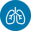 lungs icon - IVC Filter Placement/Removal